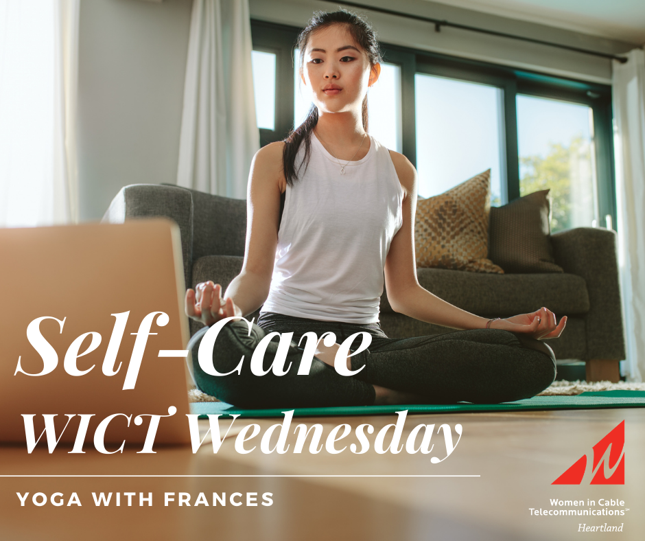 Self-Care WICT Wednesday: Yoga with Frances