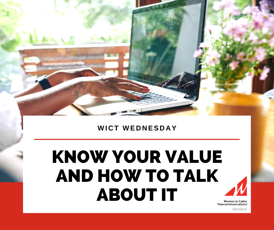 WICT WEDNESDAY - Know your value and how to talk about it